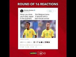 How Twitter reacted to the World Cup last 16