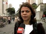 Novo incêndio em favela de SP provoca protestos contra condições de moradia