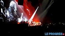 Roger Waters à Lyon  : danseurs et chanteurs lyonnais soutiennent The Wall