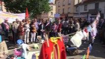 Rassemblement du comité de soutien de la maternité de St-Chamond