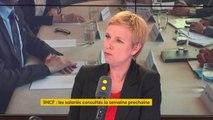 """Vot'action à la SNCF : """"Qu'un gouvernement qui estime que la seule légitimité dans ce pays est la légitimité issue des urnes est un vrai problème démocratique"""", réagit Clémentine Autain, députée La France insoumise #8h30politique"""