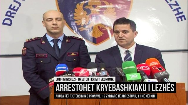 Mashtrimi me tokat, Policia e Lezhës jep detaje  - Top Channel Albania - News -   Lajme