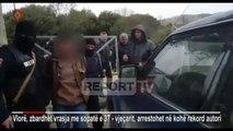 Vlorë,vrau kushëririn me sëpatë pas sherrit, momenti i arrestimit të autorit