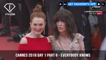Everybody Knows Red Carpet at Cannes Film Festival 2018 Day 1 | FashionTV | FTV