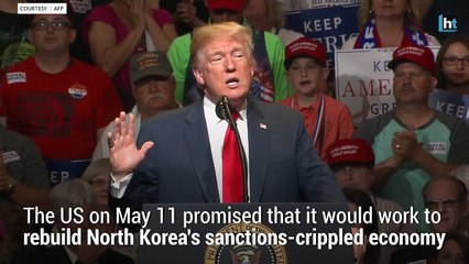 US promises to rebuild North Korea if it gives up nukes