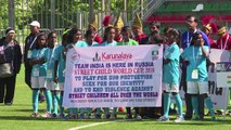 'Street Child World Cup' brings together 21 countries