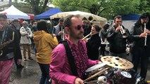 Le festival des fanfares à la Foire aux Croûtes