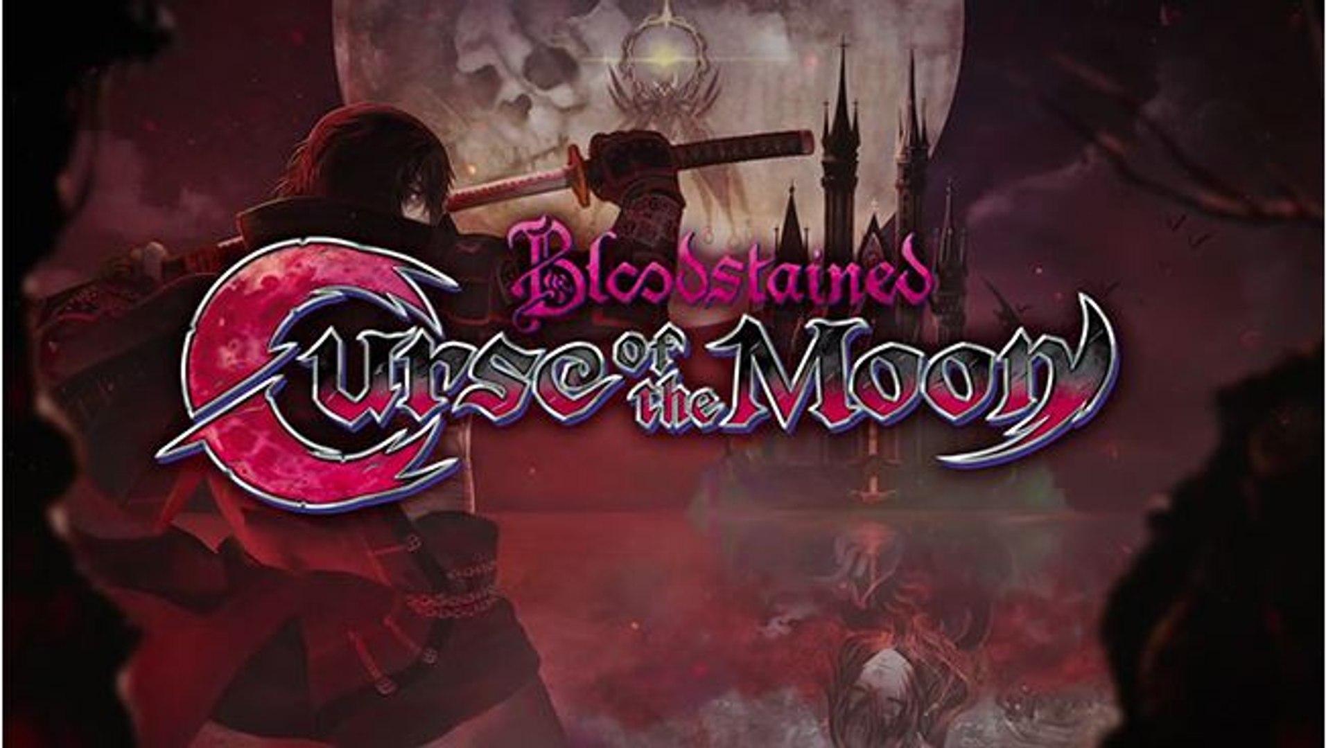 Bloodstained Curse of the Moon - Tráiler de presentación