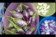 Ennai katharikkai kulambu recipe in tamil, oil brinjalagandapuram (எண்ணெய் கத்திரிக்காய் தமிழ்)