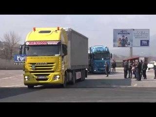 Protesë e transportuesve kosovarë për taksat e reja rrugore nga shteti shqiptar