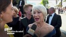 """""""Je pense faire entendre ma voix artistiquement"""" Helen Mirren- Cannes 2018"""