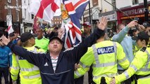 Broken PA forces English Defence League to abandon Shropshire rally