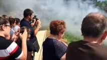 Les jeunes sapeurs-pompiers à l'école du feu à Carcès