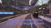 Führerstandsmitfahrt Arlbergbahn und Tauernbahn Hans-Peter Porsche TraumWerk Modellanlage - Ein Video von Pennula zum Thema Modelleisenbahnanlage und Modellbahnausstellung