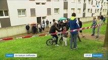 Seine-Maritime : un balcon s'effondre, trois personnes blessées