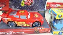 Tayo(타요) Tayo the little bus RC & Disney Cars Lightning McQueen Burnout tires toys 꼬마버스타요