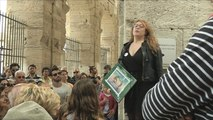 A Arles, des reconstitutions historiques des combats de gladiateurs - 13/05/2018