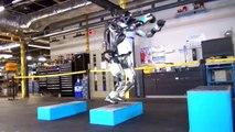 ROBOT- BACK FLIPS ATLAS ROBOT 2017  $ DANCING QUEEN ROBOT-BOSTON DYNAMICS PART -1