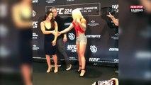 MMA : Cette combattante veut être polie avec son adversaire mais se prend un gros vent (Vidéo)