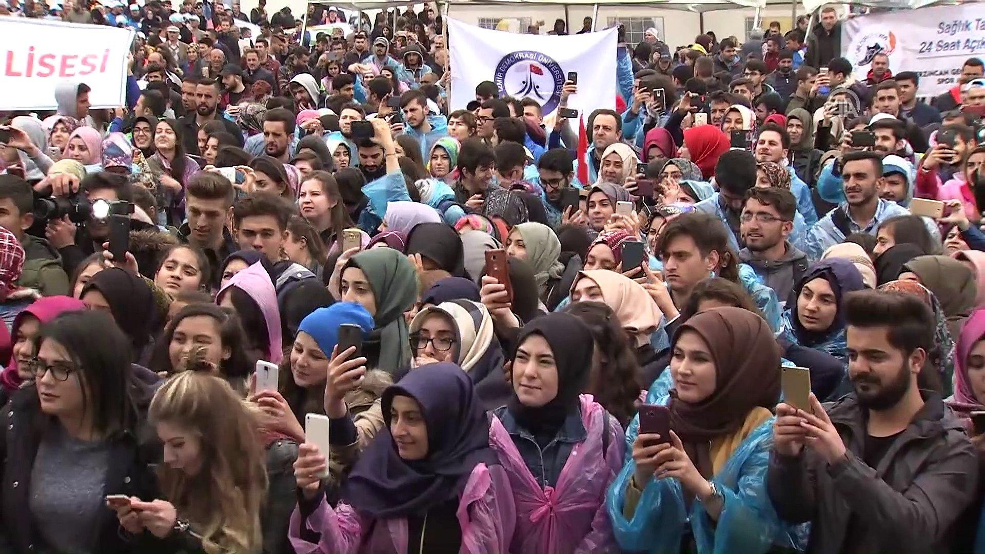 Başbakan Yıldırım: 'Gücümü gençlerden alıyorum' - ERZİNCAN