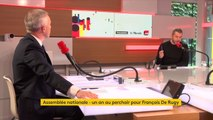 """François de Rugy : """"À mi-mandat, notre engagement collectif à La REM, c'est de faire ce bilan"""""""