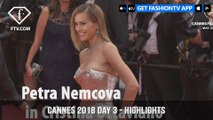 Josephine Skriver in Highlights from Cannes Film Festival 2018 Red Carpet on Day 3 | FashionTV | FTV