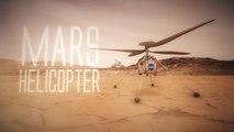 Este es el primer helicóptero de la NASA que volará en otro planeta