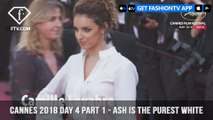 Ash Is The Purest White Red Carpet at Cannes Film Festival 2018 Day 4 | FashionTV | FTV