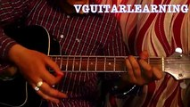 3 chords hindi song guitar lesson for absolute beginners