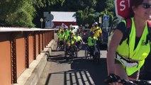 11 ème étape mairie de Saint André/Saint Benoît : passage sur le pont de la Rivière du Mât  #Runhanditour #LaReunion #Mayotte . Rendez vous devant la mairie de