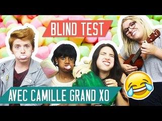 MARSHMALLOW SING CHALLENGE - Devine la chanson avec CamilleGrandXO (Chubby Bunny Challenge)