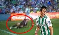 """Dribble Aissa Mandi vs FC Séville """"Pablo Sarabia"""""""
