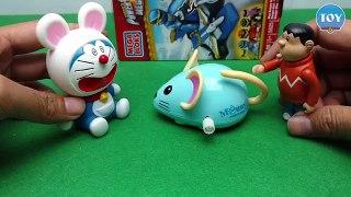 Doraemon so chuot meo may Iron Man trung phat Chai