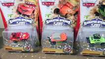 CARS RADIATOR SPRINGS 500 1/2 Off-Road Rally Race Track Action Shifters Set Micro Drifters