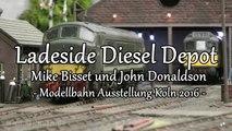 Diesel Loks und Dampfloks auf einer Spur 0 Modulanlage aus England - Ein Video von Pennula zum Thema Modelleisenbahnanlage und Modellbahnausstellung