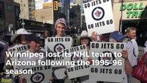 Winnipeg's love affair with Jets