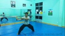 Kata nunchaku. Bài quyền côn nhị khúc. #Nunchaku kata tutorial. Hướng dẫn bài quyền côn nhị khúc
