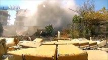 Footage of Syrian Army Fighting Jaish al Islam in Douma
