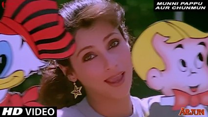 Munni Pappu aur Chunmun | Asha Bhosle | Arjun | Full Song HD | Sunny Deol, Dimple Kapadia
