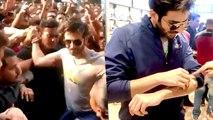 Sonu Ke Titu Ki Sweety Actor Kartik Aaryan Gets Injured After Being Mobbed By Fans | Bollywood Buzz
