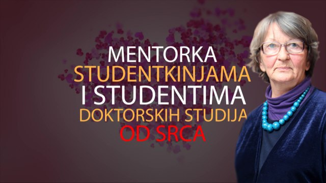 Mentorka studentkinjama i studentima od srca