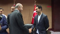 Cumhurbaşkanı Erdoğan İngiltere'de Türk Futbolcularla Bir Araya Geldi Hd