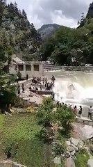 سانحہ نیلم ویلی میں پل گرنے کی فوٹیج منظر عام پر آگئی