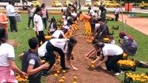 Sanko Park Çiçek Karnavalı kortej yürüyüşüne dev katılım