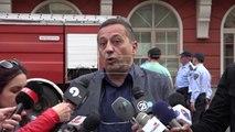 Ministria e Drejtësisë përfshihet nga zjarri