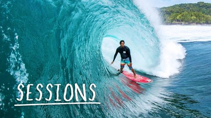 SURF SESSIONS: Mikala Jones surfs the most remote beaches in Indonesia.