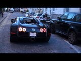 Bugatti Veyron Sang Noir - Quick Acceleration, Chase and Driving Scenes