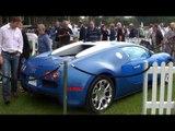 Two-tone Blue Bugatti Veyron GrandSport Video Walkaround at Chelsea AutoLegends 2010