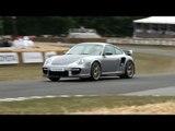 Porsche GT2 RS 911 997 - Paris Mondial de l'Automobile 2010 and Track Scenes