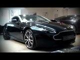 Aston Martin N420 V8 Vantage Coupe - Shots at Grange Aston Martin
